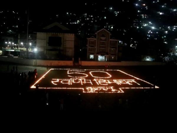 Himachal Pradesh's golden jubilee was celebrated in Kullu [Photo/ANI]