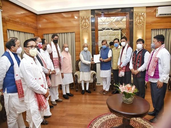 Assam Governor Jagdish Mukhi accepts BJP leader Himanta Biswa Sarma's claim.