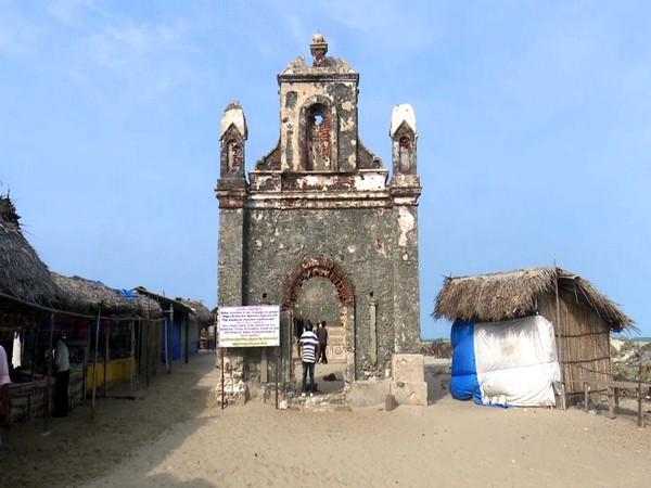 Roman Catholic church in Dhanushkodi