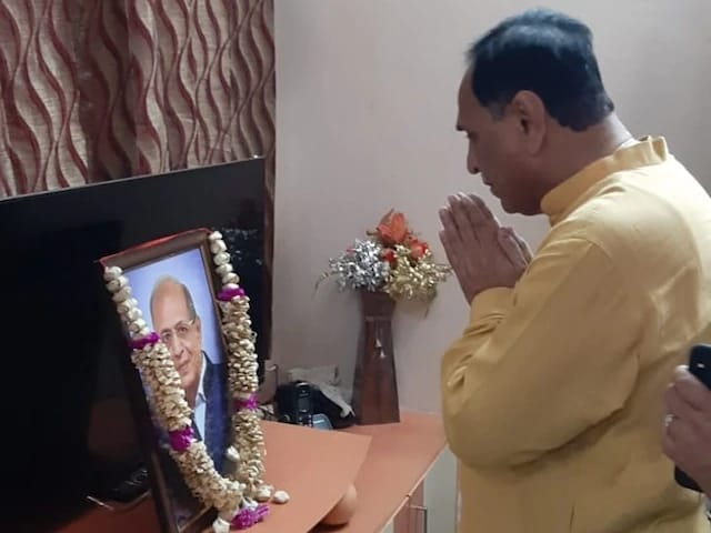 Chief Minister Vijay Rupani's cousin died due to a delayed 108 ambulance on October 4. Photo/ANI