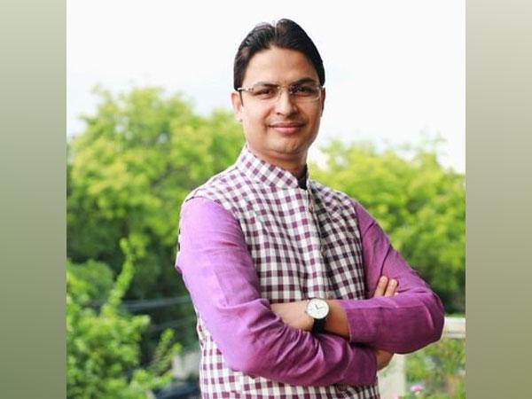 Raju Bista, BJP from Darjeeling. (Source: Raju Bista Twitter)