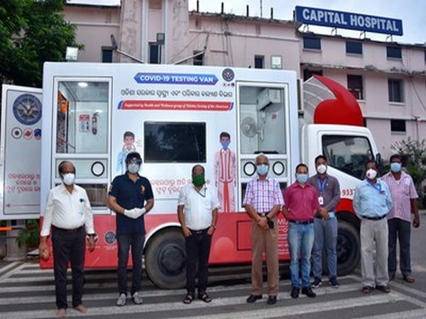 A fully equipped ambulance with Covid-19 testing facilities, sponsored by ODIA, was donated to Bhubaneswar's Capital Hospital of Odisha government.