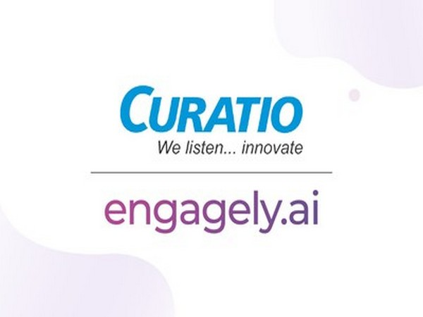 Curatio and Engagely.ai Logo