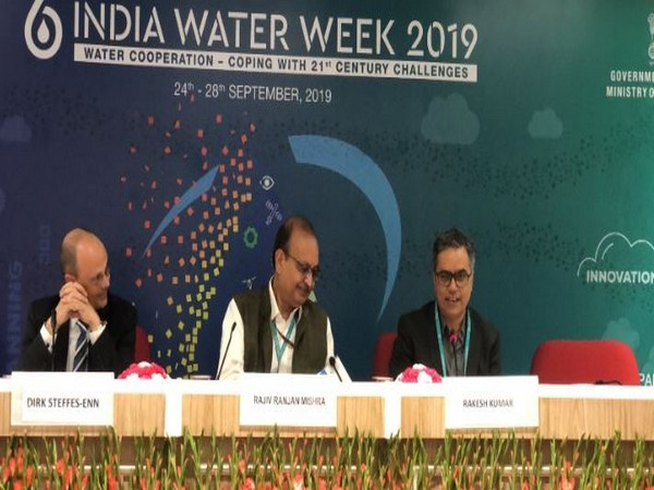 India water week 2019 held in New Delhi on Friday. Photo/ANI
