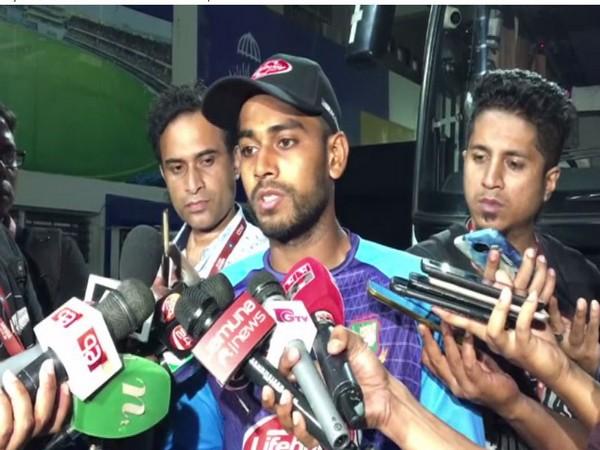Bangladesh spinner Mehidy Hasan