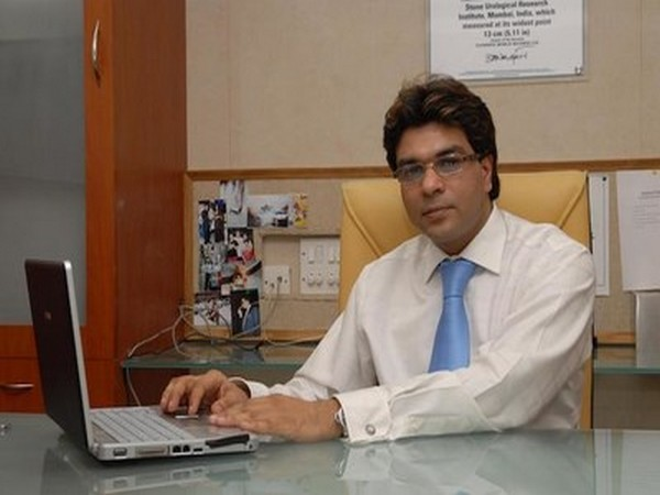 Hanish Bansal, Executive Director of the RG Stone Hospitals