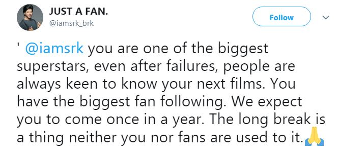 WeWantAnnoucementSRK - Fans urge Shah Rukh Khan to announce