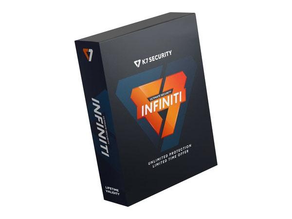 K7 Computing launches Lifetime Valid Antivirus - K7 Ultimate Security Infiniti Edition