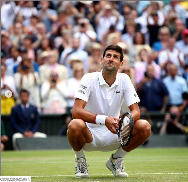 Serbian tennis player Novaj Djokovic (Photo/ Novak Djokovic Instagram)