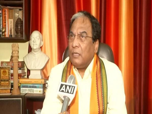 Joy Prakash Majumdar, Vice-President, West Bengal BJP speaking to ANI in Kolkata on Thursday. [Photo/ANI]