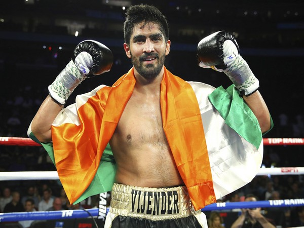 Indian boxer Vijender Singh