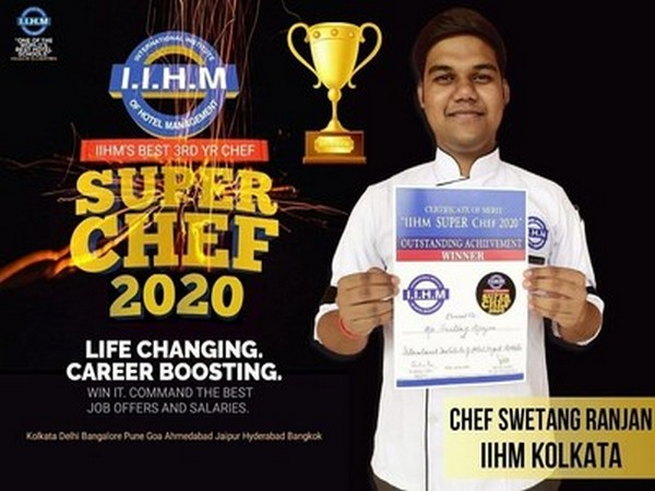 Super Chef Winner Swetang Ranjan
