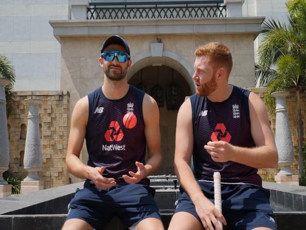 Mark Wood and Jonny Bairstow (Photo/ ECB)