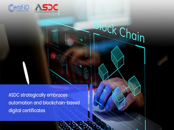 ASDC strategically embraces automation and blockchain-based digital certificates