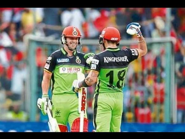 Ab de Villiers and Virat Kohli during 2016 IPL game against Gujarat Lions (Photo/ Virat Kohli Instagram)