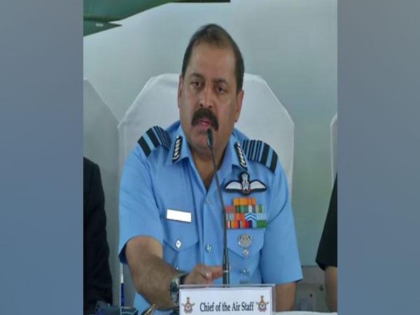 Air Force Chief Air Chief Marshal RKS Bhadauria at Thanjavuron Monday
