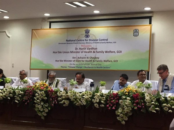Union Health Minister Dr Harsh Vardhan at the 110th annual day function of NCDC.