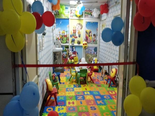 Child-friendly COVID-19 ward in Delhi's LNJP hospital (Photo/ANI)