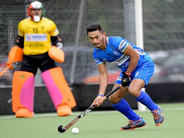 Defender Kothajit Singh Khadangbam (Photo/ Hockey India)