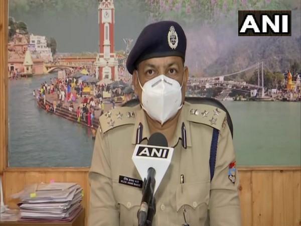 Uttarakhand Police Headquarters Spokesperson DIG Nilesh Anand Bharane (Photo/ANI)