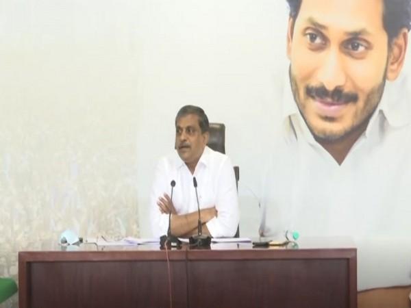YSRCP General Secretary and advisor to Andhra Pradesh Government Sajjala Ramakrishna Reddy (Photo/ANI)