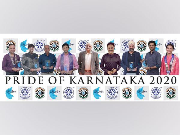 (L to R) Shravan NS, Dr Aneesh Vidyashankar, K Ullas Karanth, Venkatesh Prasad, Chief Guest Praveen Sood, Prakash Raj,  Rohan Bopanna, Vilas Nayak, Ankita Rajput.