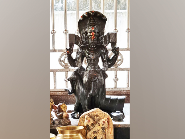 Idol of Lord Subrahmanyeswara (Photo: ANI)