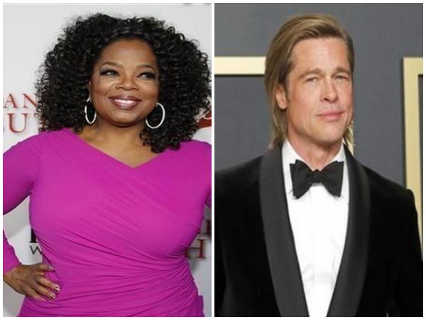 Oprah Winfrey, Brad Pitt