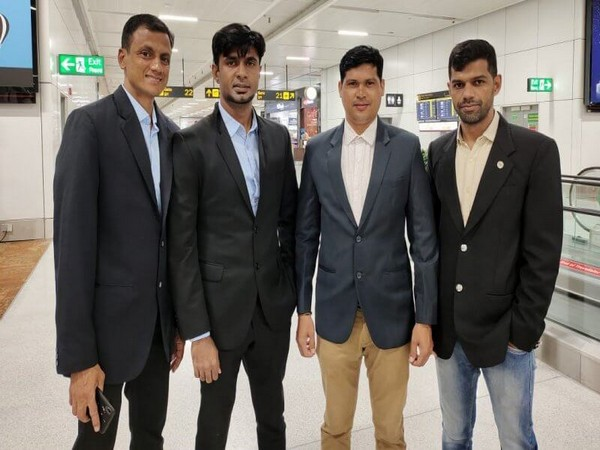 The Indian referees invited by Japan FA (Photo/AIFF)