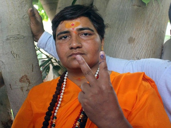 BJP MP from Bhopal Sadhvi Pragya Singh Thakur (File Photo/ANI)