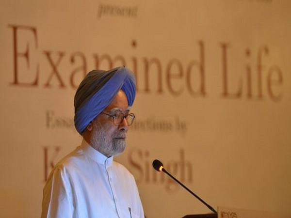 Former Prime Minister Manmohan Singh's Rajya Sabha term ended Friday. (Photo/ANI)