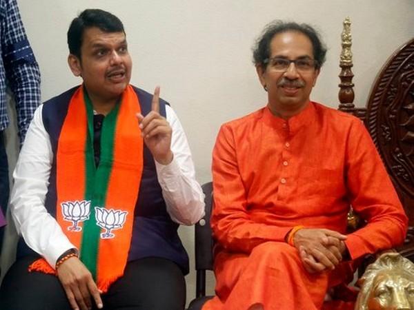 Maharashtra CM Devendra Fadnavis and Shiv Sena Uddhav Thackeray. (File Photo)