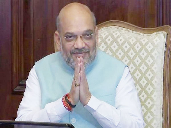Home Minister Amit Shah compared India's win against Pakistan with the surgical strike conducted by the Army. (Photo/ANI)