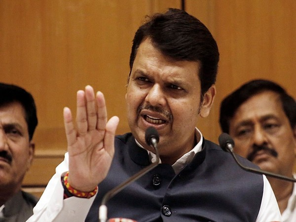 Maharashtra Chief Minister Devendra Fadnavis (File photo/ANI)