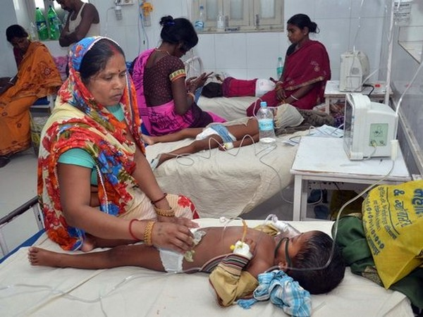 As many as 117 children have lost their lives Acute Encephalitis Syndrome outbreak in Bihar. (Photo/ANI)