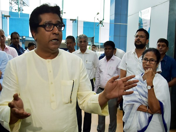 MNS chief Raj Thackeray and West Bengal Chief Minister Raj Thackeray