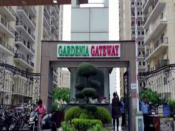 Gardenia Gateway residential society in Sector-75, Noida, Uttar Pradesh. Photo/ANI