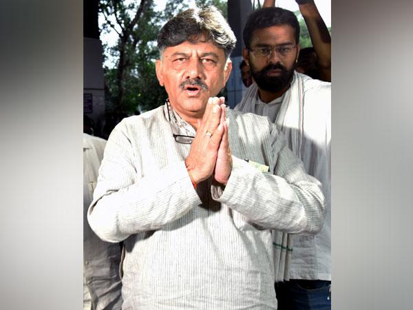 Congress leader DK Shivakumar. File Photo/ANI