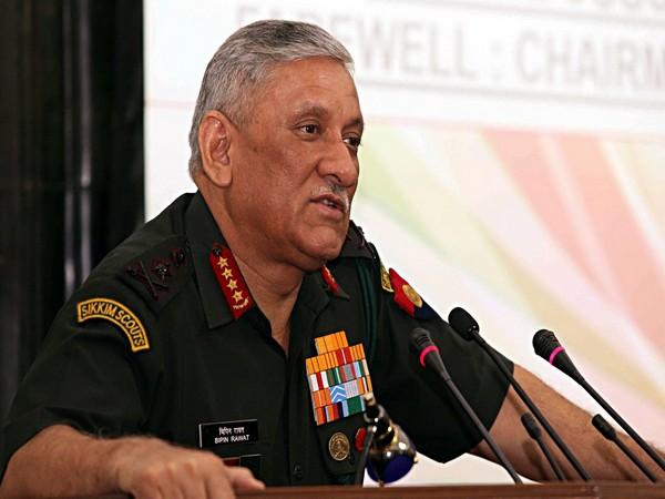 Indian Army Chief General Bipin Rawat ( File photo/ANI)
