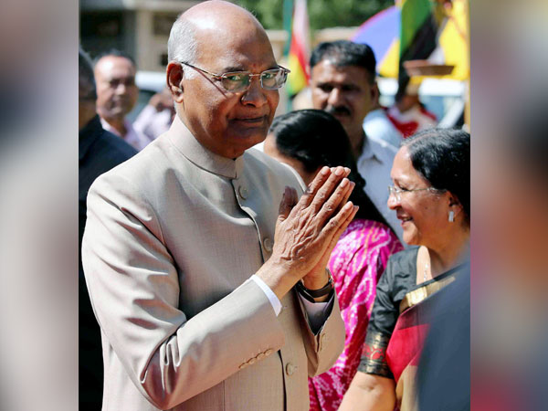 President Ram Nath Kovind (File photo/ANI)