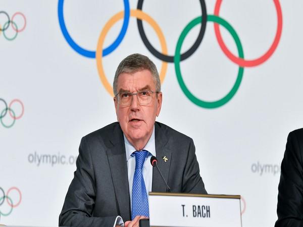 IOC President Thomas Bach (file image)