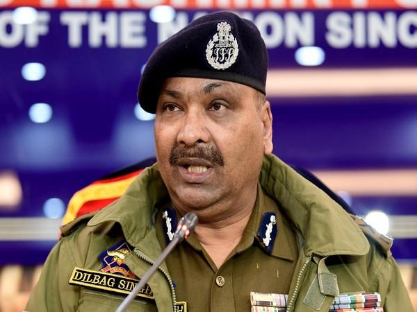 Director General of Police (DGP) Jammu and Kashmir Dilbag Singh. (File Photo)