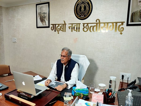 Chhattisgarh Chief Minister Bhupesh Baghel (file photo)