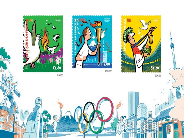 Series of stamps (Photo: IOC)
