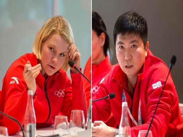 Emma Terho and Seung Min Ryu (Photo:IOC / Dave Thompson)