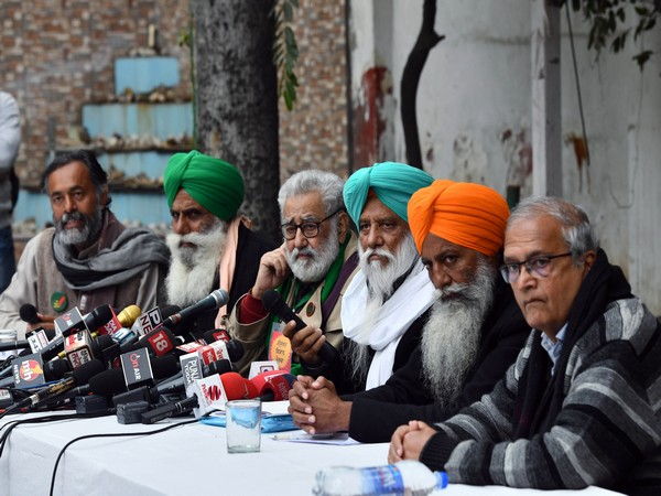A few leaders of the Samyukta Kisan Morcha. (File Photo)