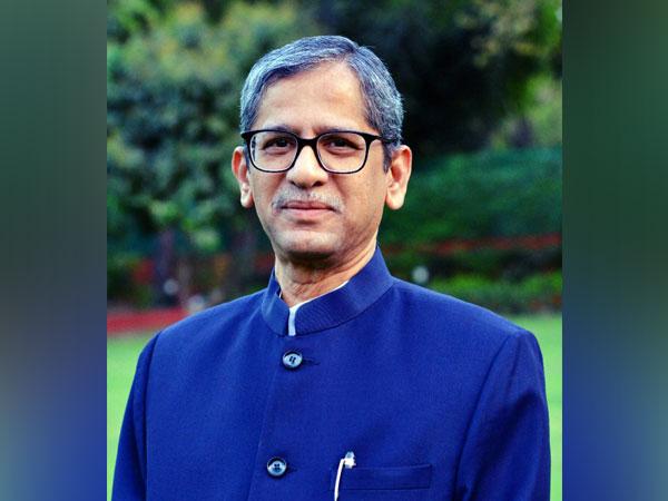Chief Justice of India NV Ramana. (File photo/ANI)