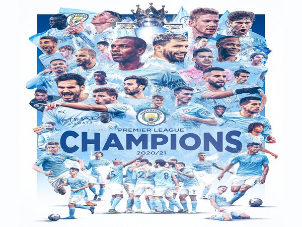 City has won the title thrice in four years. (Photo/ Man City twitter)
