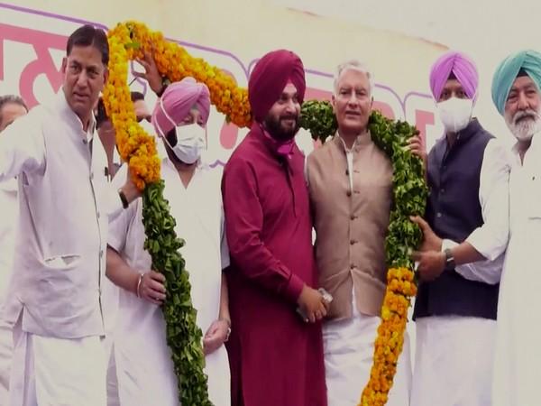 Newly appointed Punjab Congress president Navjot Singh Sidhu (Photo/ANI)