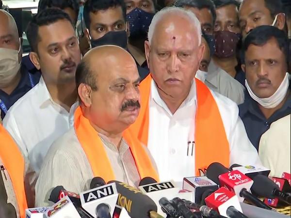 Nealy appointed Karnataka Chief Minister Basavaraj Somappa Bommai. (File photo/ANI)